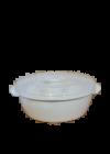 Hobby tál tetővel mikrózható 3l 021512