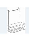Metalife króm ajtóra akasztható rendező egyszintes AKB-758 ÚJ termék