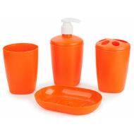 Berossi fürdőszobai szett aqua mandarinsárga AC22140