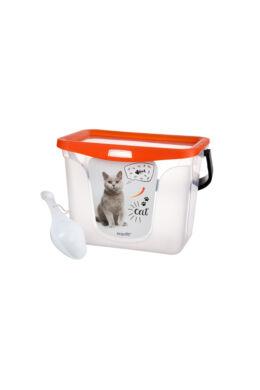 Berossi állateledel tartó 6l mandarinsárga AC37540