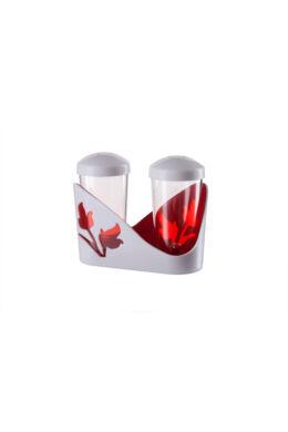 Berossi só és bors szóró viola piros átlátszó IK20012