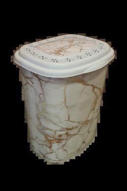 Melisa szennyestartó mintás 41l ME-260 márvány