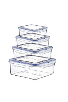 Hobby légmentes tároló doboz szett szögletes 0,3+0,68+1,3+2,3l 021480 ÚJ
