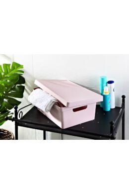 Emhouse tároló doboz tetővel 10l EP-410 ÚJ