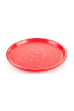 Berossi tálca kerek 33 cm vörös IK17946 ÚJ