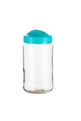 Berossi tároló üveg 1,5l türkíz, IK19337