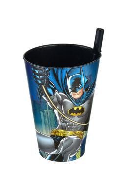 Tuffex Batman pohár szívószállal TP512-50 ÚJ