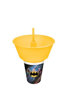 Tuffex Batman üdítő+snack tartó Batman TP564-50 ÚJ