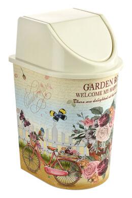 Tuffex click billenős szemetes 15l TP2229 garden