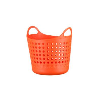 Berossi kosár mini kerek mandarinsárga AC21340