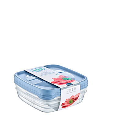Hobby trend tároló doboz 3x1,3l 020976