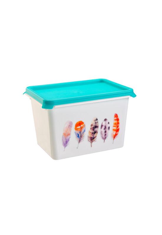 Berossi tároló doboz serenity 2l türkíz IK54237