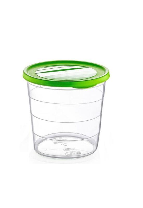 Hobby trend tároló doboz kerek mély 1,1l 021043