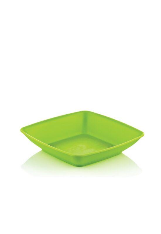 Hobby tányér szögletes mély 031292