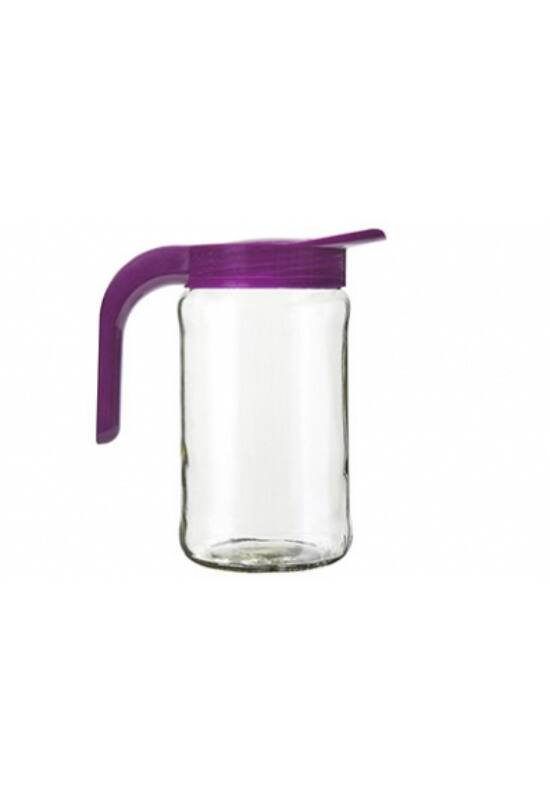 Berossi kancsó üveg 1,5l fukszialila, IK09058 ÚJ