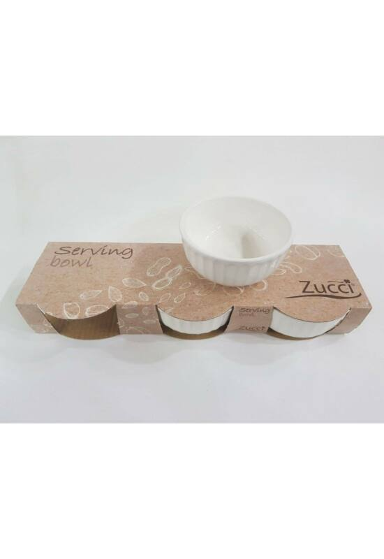Zucci kerámia kínáló tál kerek 3db KA-209