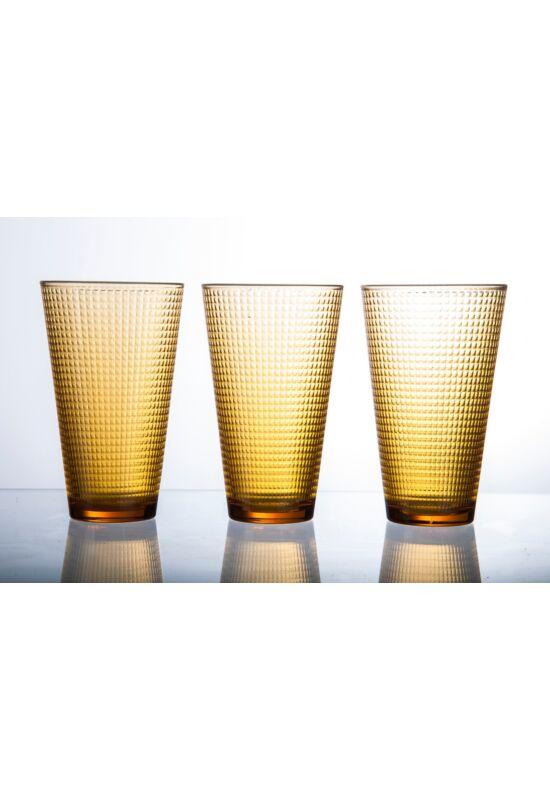 Sigma üveg pohár cube 0,34l SGM03908 ÚJ