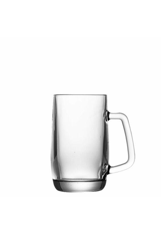 Sigma üveg pohár korsó 0,4l SGM04857 ÚJ